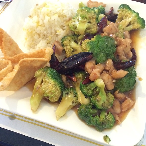 Chicken & Broccoli @ Lotus Room Chinese Cuisine