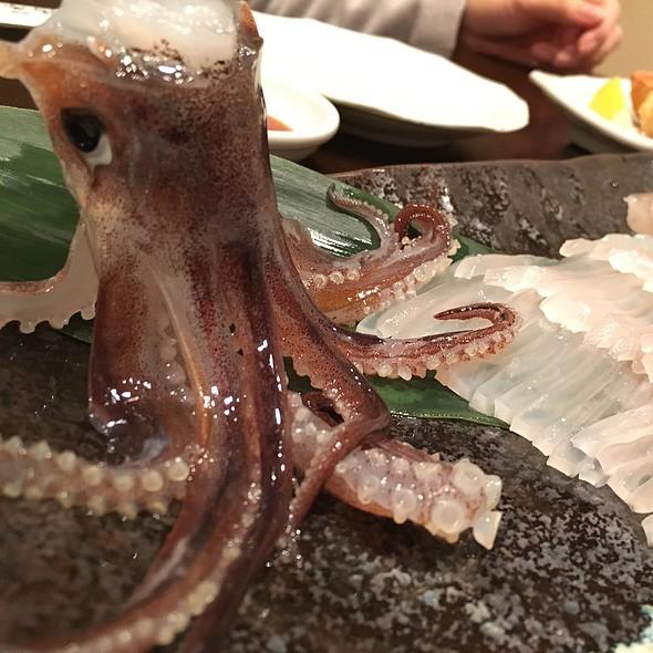 squid sashimi @ 開陽亭 すすきの2号店