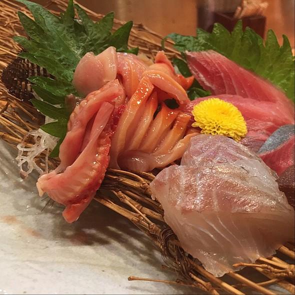 Sashimi Platter @ 季節料理 こばやし