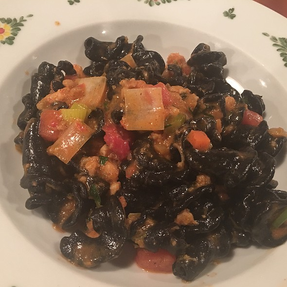 Squid Ink Pasta - Osteria Morini - New York, New York, NY