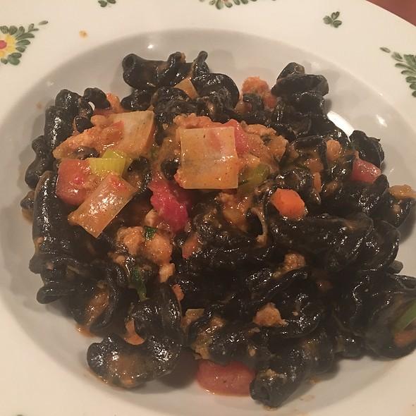 Squid Ink Pasta @ Osteria Morini