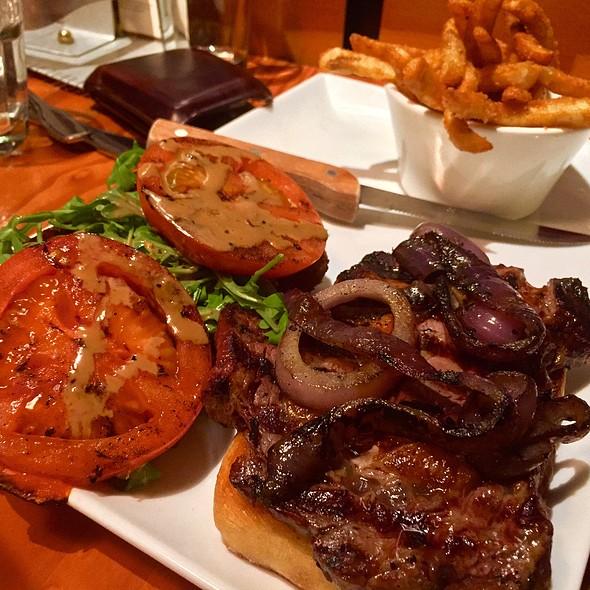 Grilled Ribeye Sandwich @ Wildfin American Grill