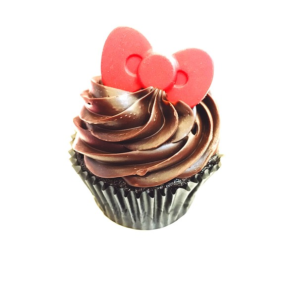 Ribbon Choco Cupcake
