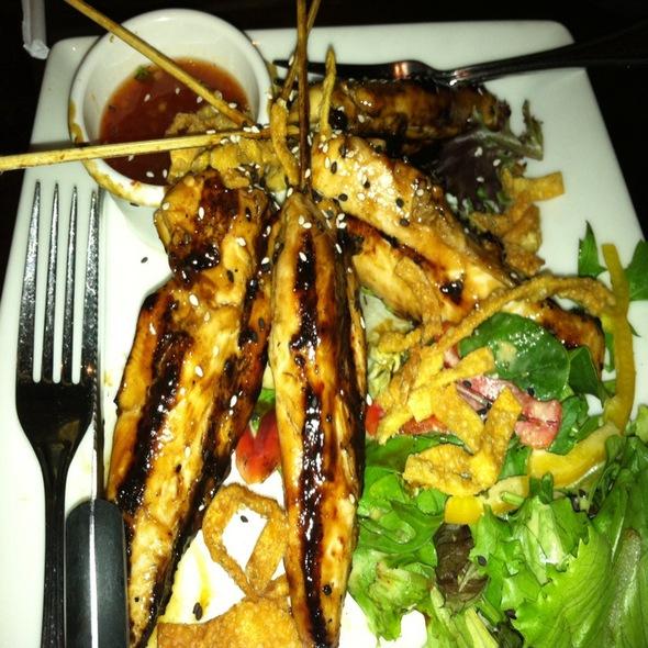 Grilled Thai Chicken Skewers - Village Tavern Greensboro, Greensboro, NC