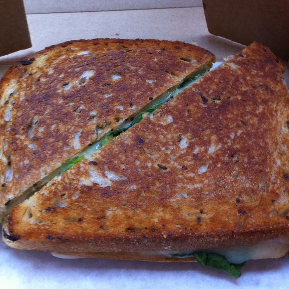 Grilled Cheese with Spinach @ Cheeseboy: Grilled Cheese To Go