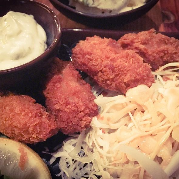 fried oysters @ Taishu-Izakaya Kenka