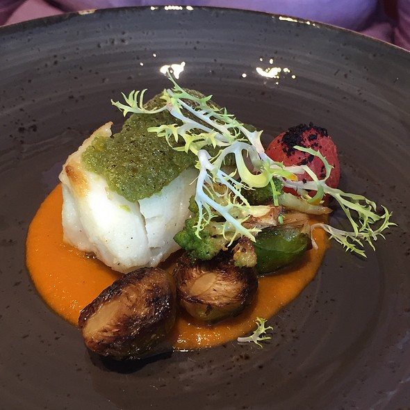 Black Cod With Tomato And Herb Crust