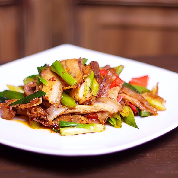 The Best Loved Sichuan Dish - Twice Cook Pork. Book Now At Www.Barshurestaurant.Co.Uk To Experience This Popular Sichuan Dish.