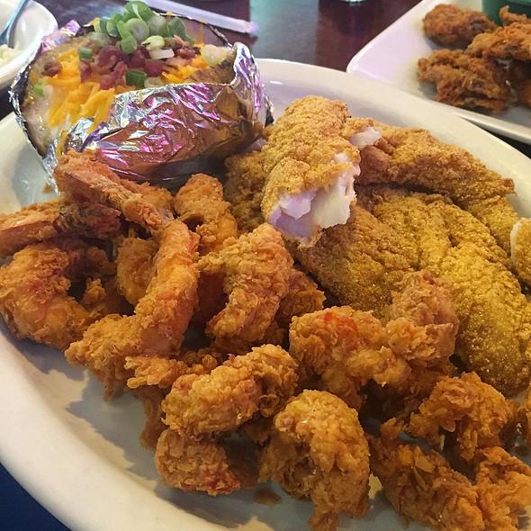 Fried Seafood Combination @ Baytown Seafood