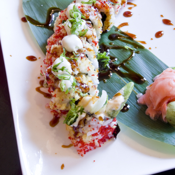 Godzirra Roll @ Sticky Rice