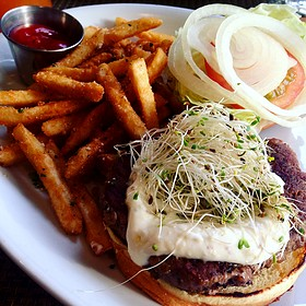 Turkey Burger - Cafeteria Boston, Boston, MA