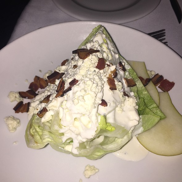 Wedge Salad - Steve & Cookie's By the Bay, Margate, NJ