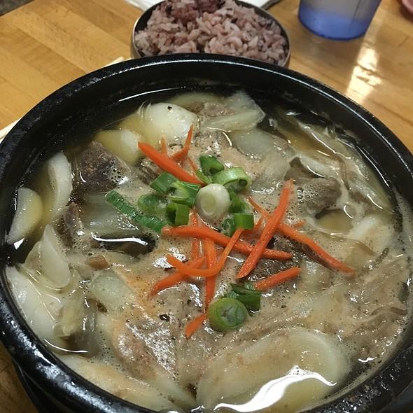 Hot Pot Bulgogi @ Korean Tofu House