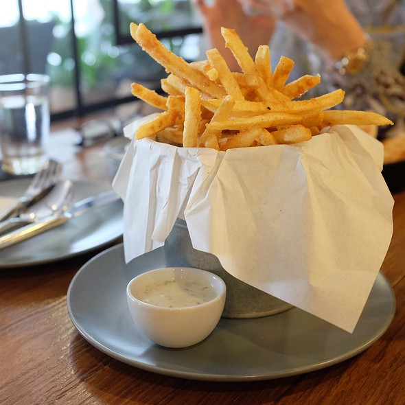 Homemade Seasoned French Fries @ Flour Shoppe