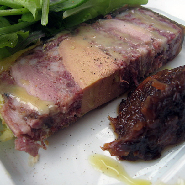 Deer and quail Terrine with foie gras @ Restaurant Toqué