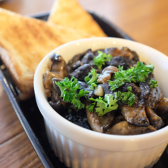 Sauteed Shitake Mushrooms @ Flour Shoppe