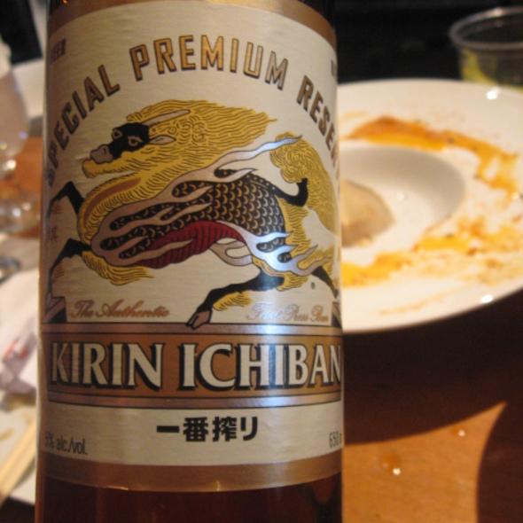 Kirin Ichiban @ Kazu