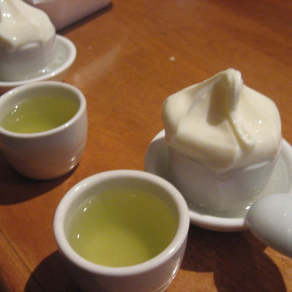 Sake ice crean @ Kazu
