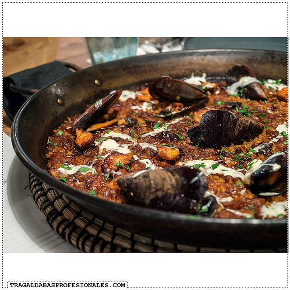 Octopus paella @ Barraca