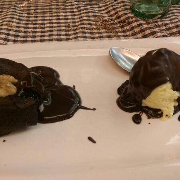 Coulant De Chocolate @ Restaurant 3009