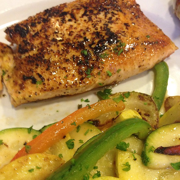 Seared Salmon @ Abby Singer's Bistro