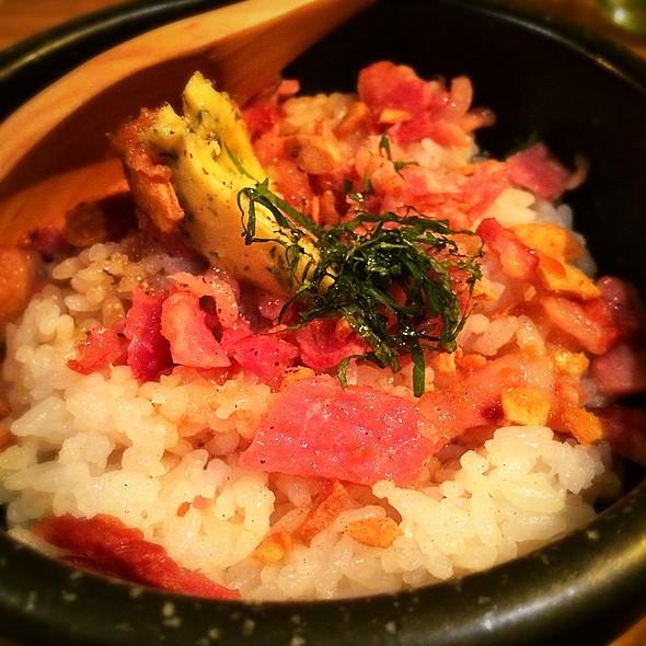 Garlic Rice in Hot Stone Pot @ M Matsusakagyu Yakiniku, Osaka Japan