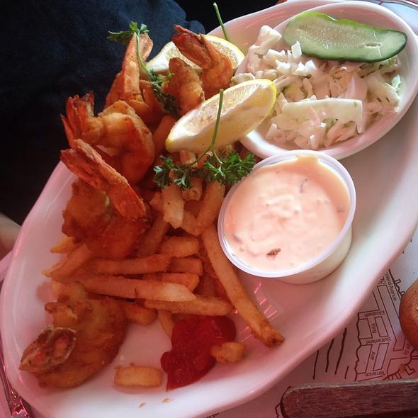 Fried Shrimp Platter @ Sammy's SHRIMP BOX