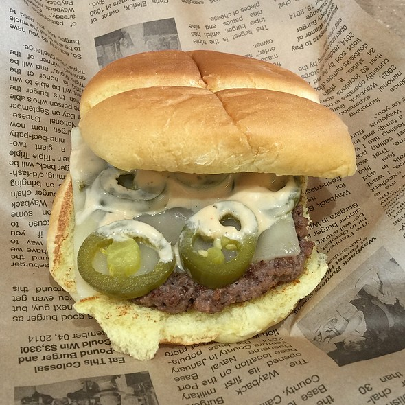 Chipotle Cheeseburger @ Whataburger