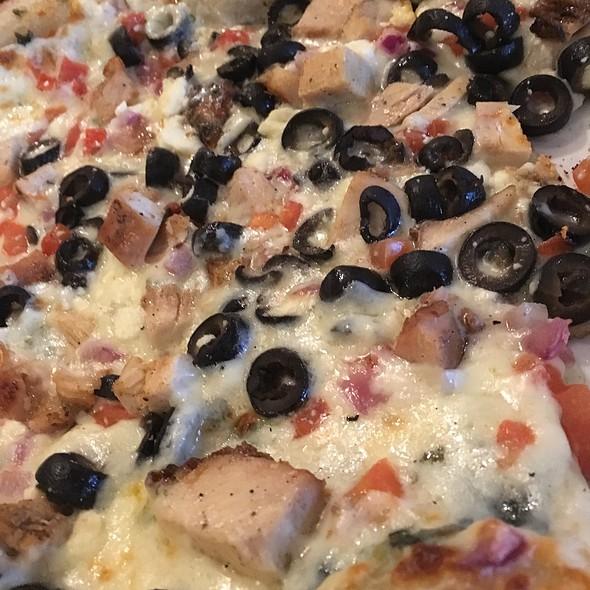 Greek Pizza @ Fletchers Kitchen & Tap