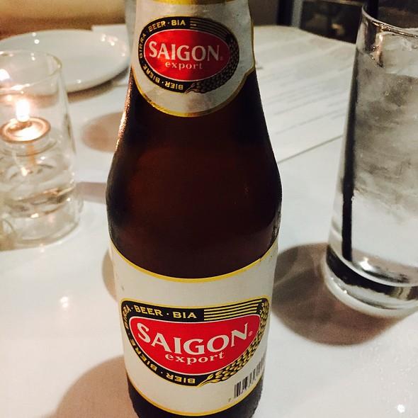 saigon beer @ Tsunami Sushi
