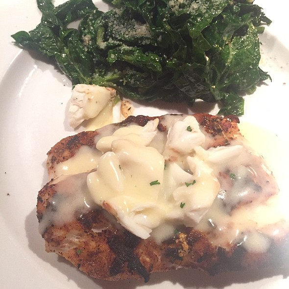 Grouper With Crabmeat