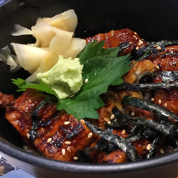 Unagi Donburi @ Kabocha Sushi @ The Nine