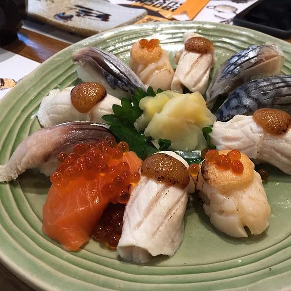 Assorted Sushi @ Kabocha Sushi @ The Nine