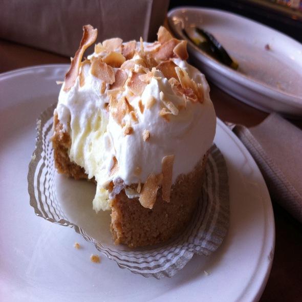 Coconut Cream Tartlet @ Baker & Spice