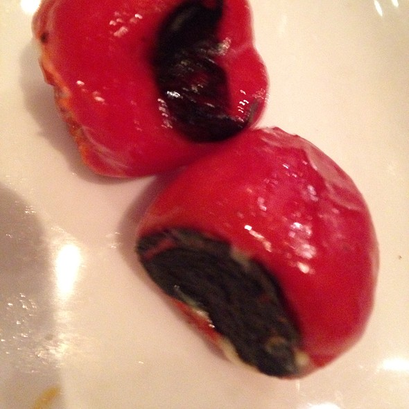 Goat Cheese Stuffed Peppers