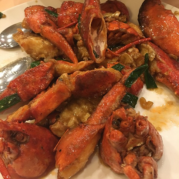 Lobster with Ginger and Scallion @ East Harbor Seafood Palace