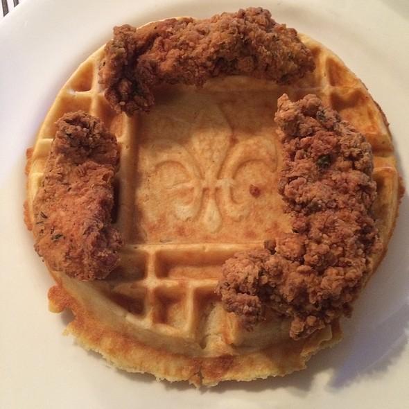 Chicken and Waffles - Jolie's Louisiana Bistro, Lafayette, LA