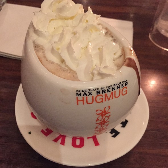 Mexican Hot Chocolate @ Max Brenner