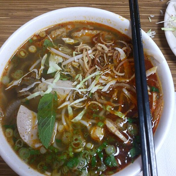 """Hue Style Beef Noodles """"Bun Bo Hue"""""""