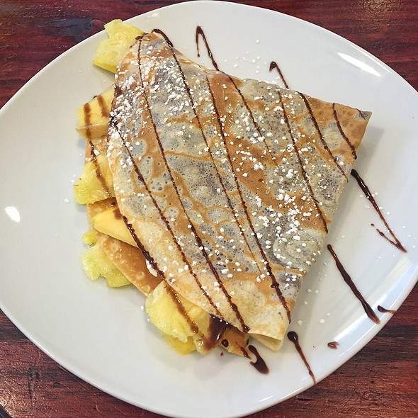 Mango Pineapple Crepe