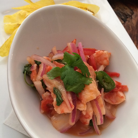 Ceviche @ Grondin French Latin Kitchen
