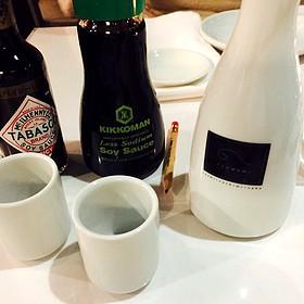 Sake And Soy Set Up Service