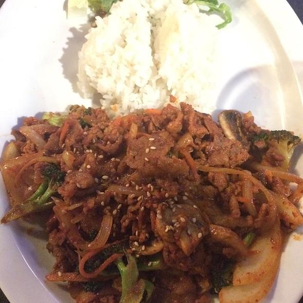 Spicy Pork Bulgogi @ Soo Cafe