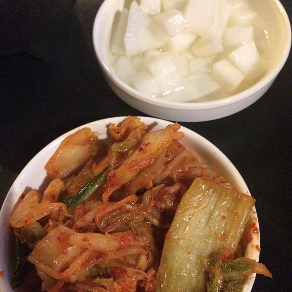 Kimchi And Pickled Radish  @ Soo Cafe