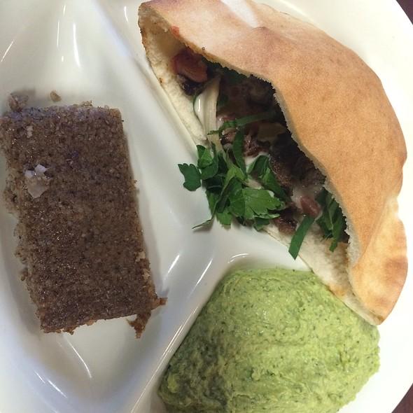 Lamb Shawarma Sandwich @ Neomonde