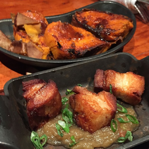 Braised Pork Belly Dressed With Apple Butter @ Smoke The Restaurant