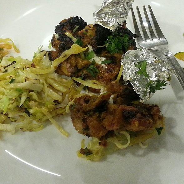 Chicken Raw Sizzler @ Hotel Niyaz