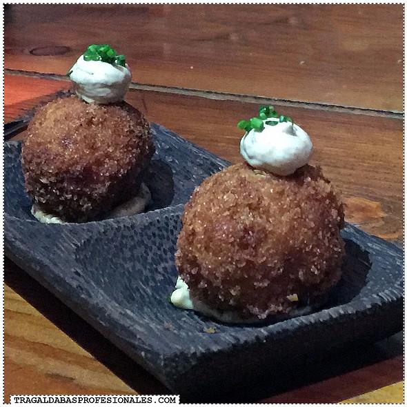 Shrimp Croquettes @ Sensi Gourmet Tapas