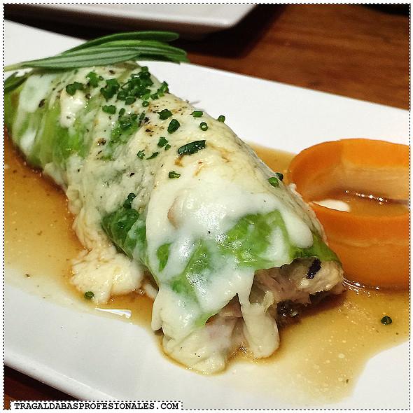 Cabbage cannelloni @ Sensi Gourmet Tapas