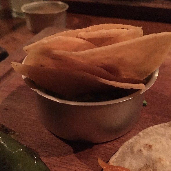 Chips and Guacamole @ Village Social Kitchen & Bar